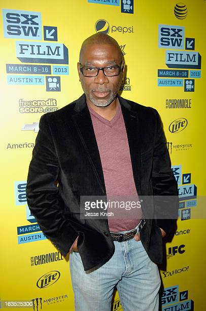 Actor Alfonso Freeman poses for a portrait at 'The Retrieval' Photo Op during the 2013 SXSW Music Film Interactive Festival at Alamo Ritz on March 11...