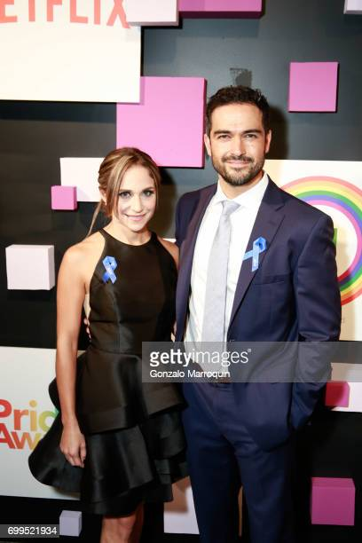 Actor Alfonso Herrera attends the 2017 Village Voice Pride Awards at Capitale on June 21 2017 in New York City