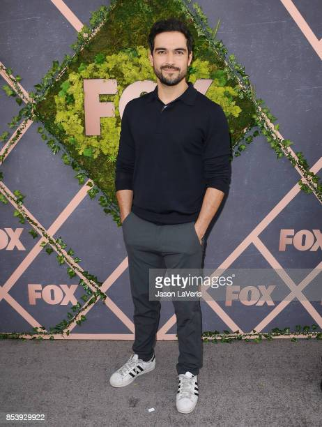 Actor Alfonso Herrera attends the FOX Fall Party at Catch LA on September 25 2017 in West Hollywood California