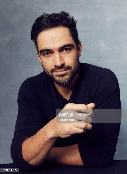 Actor Alfonso Herrera of Fox's 'The Exorcist' poses for a portrait during ComicCon 2017 at Hard Rock Hotel San Diego on July 20 2017 in San Diego...