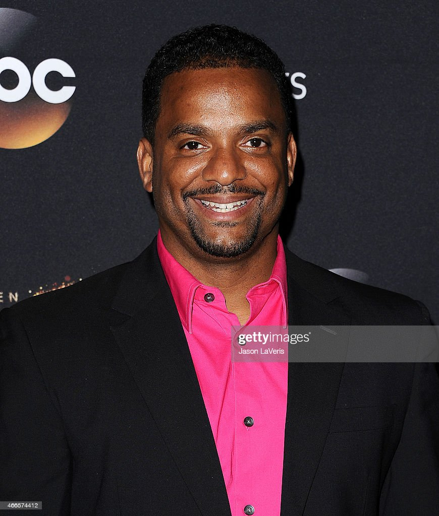 Actor Alfonso Ribeiro attends ABC's 'Dancing With The Stars' season premiere at HYDE Sunset: Kitchen + Cocktails on March 16, 2015 in West Hollywood, California.