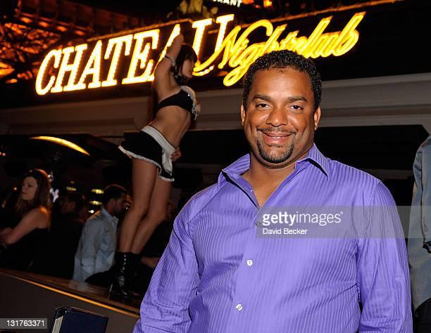 Actor Alfonso Ribeiro attends the Chateau Nightclub & Gardens at the Paris Las Vegas on April 2, 2011 in Las Vegas, Nevada.