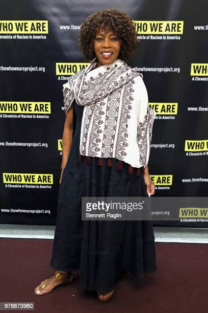 Actor Alfre Woodard attends Who We Are A Chronicle Of Racism In America at Town Hall on June 19 2018 in New York City