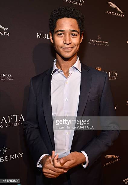 Actor Alfred Enoch attends the BAFTA Los Angeles Tea Party at The Four Seasons Hotel Los Angeles At Beverly Hills on January 10, 2015 in Beverly...