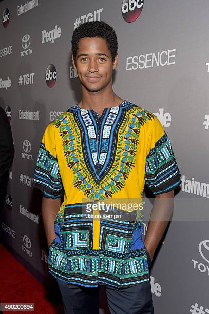Actor Alfred Enoch attends the Celebration of ABC's TGIT Lineup presented by Toyota and cohosted by ABC and Time Inc's Entertainment Weekly Essence...
