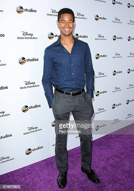 Actor Alfred Enoch attends the Disney Media Distribution International Upfronts at Walt Disney Studios on May 17 2015 in Burbank California