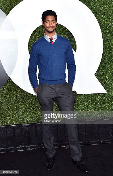 Actor Alfred Enoch attends the GQ 20th Anniversary Men Of The Year Party at Chateau Marmont on December 3 2015 in Los Angeles California