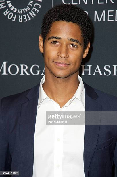 Actor Alfred Enoch attends The Paley Center For Media's Tribute To AfricanAmerican Achievements In Television at the Beverly Wilshire Four Seasons...