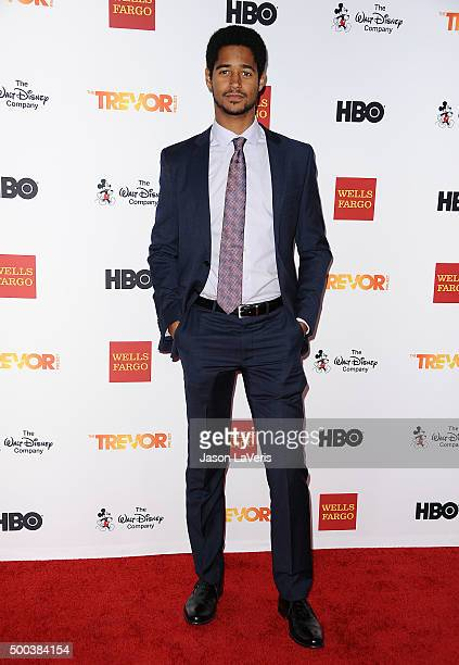Actor Alfred Enoch attends TrevorLIVE LA 2015 at Hollywood Palladium on December 6 2015 in Los Angeles California