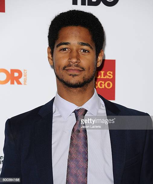 Actor Alfred Enoch attends TrevorLIVE LA 2015 at Hollywood Palladium on December 6 2015 in Los Angeles California