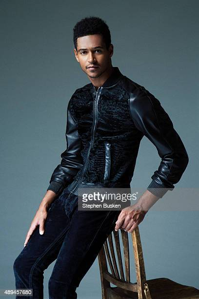 Actor Alfred Enoch is photographed [for New York Moves on May 27 2015 in Hollywood California