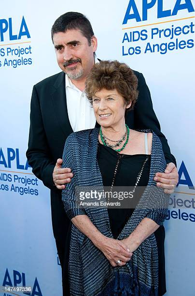Actor Alfred Molina and his wife actress Jill Gascoine arrive at the 3rd Annual Art Project Los Angeles Fundraiser at Bonhams on June 30 2012 in Los...