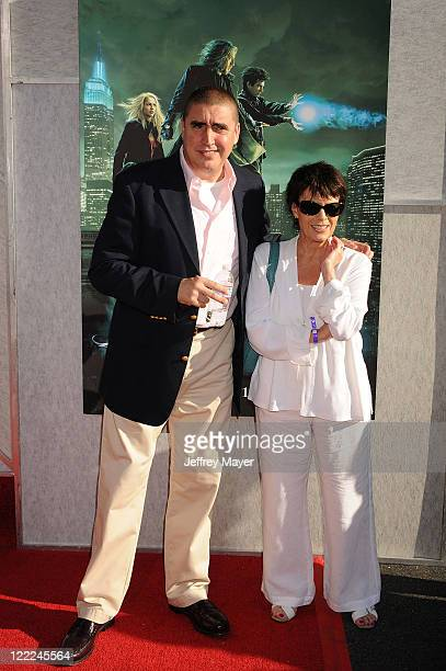 Actor Alfred Molina and Jill Gascoine arrive at the Creative Visions Foundation Benefit Screening Of The Sorcerer's Apprentice at the Main Theatre at...