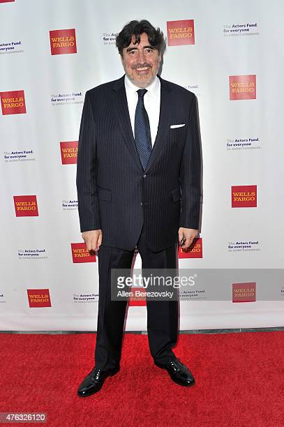 Actor Alfred Molina attends The Actors Fund's 19th Annual Tony Awards viewing party at Skirball Cultural Center on June 7, 2015 in Los Angeles,...