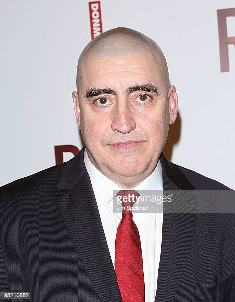 Actor Alfred Molina attends the opening night party for RED on Broadway at Gotham Hall on April 1 2010 in New York City