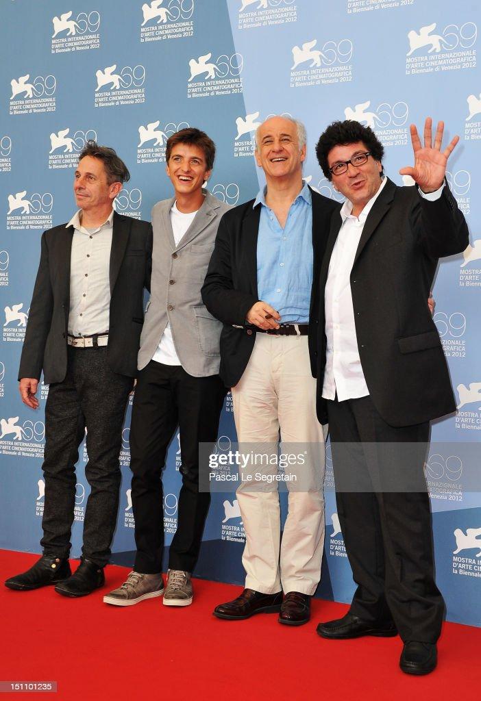 """""""E Stato Il Figlio"""" Photocall - The 69th Venice Film Festival"""