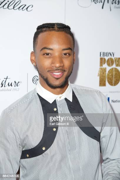 Actor Algee Smith attends Ebony Magazine's Ebony's Power 100 Gala at The Beverly Hilton Hotel on December 1 2017 in Beverly Hills California