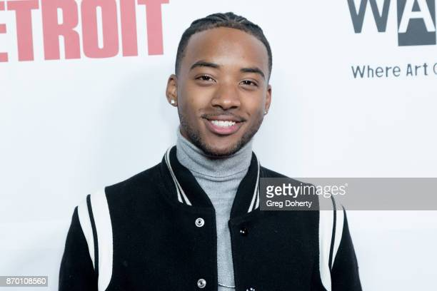 Actor Algee Smith attends Richard Lawson and Tina Knowles Lawson Launch at the WACO Theater Grand Opening at WACO Theater Center on November 3 2017...