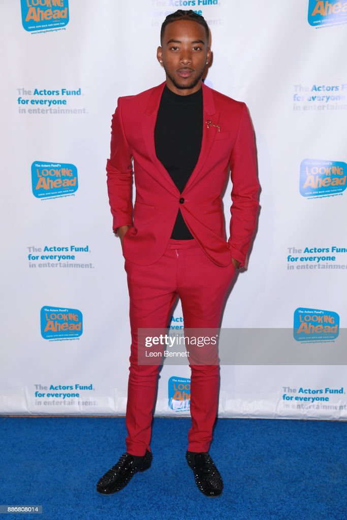 Actor Algee Smith attends The Actors Fund's 2017 Looking Ahead Awards Honoring The Youth Cast Of NBC's 'This Is Us' at Taglyan Complex on December 5, 2017 in Los Angeles, California.