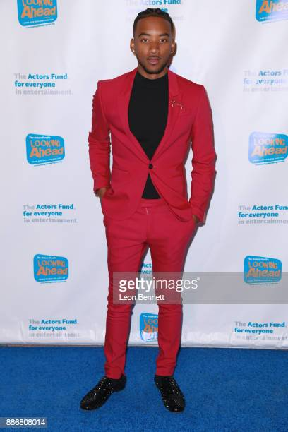 Actor Algee Smith attends The Actors Fund's 2017 Looking Ahead Awards Honoring The Youth Cast Of NBC's 'This Is Us' at Taglyan Complex on December 5...