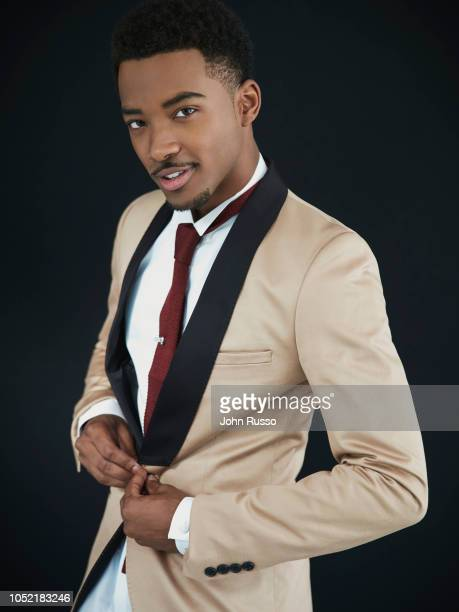 Actor Algee Smith is photographed on October 17 2016 in Los Angeles California