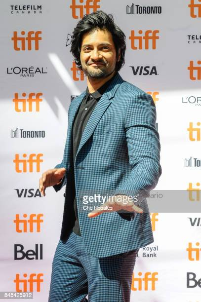 Actor Ali Fazal attends the Victoria and Abdul Premiere at Princess of Wales Theatre on September 10 2017 in Toronto Canada
