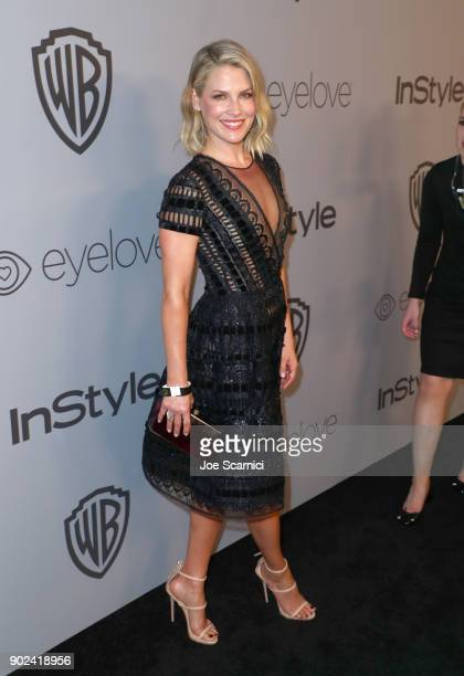 Actor Ali Larter attends the 2018 InStyle and Warner Bros 75th Annual Golden Globe Awards PostParty at The Beverly Hilton Hotel on January 7 2018 in...