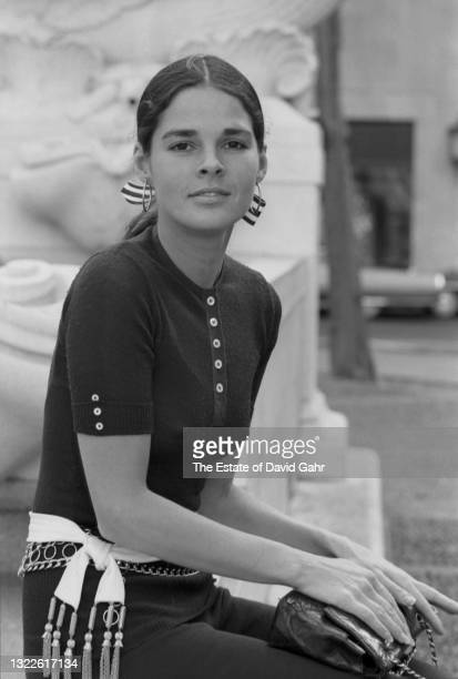 Actor Ali MacGraw poses for a portrait on March 27, 1969 in New York City, New York. Ali McGraw was one of the top female box office stars in the...