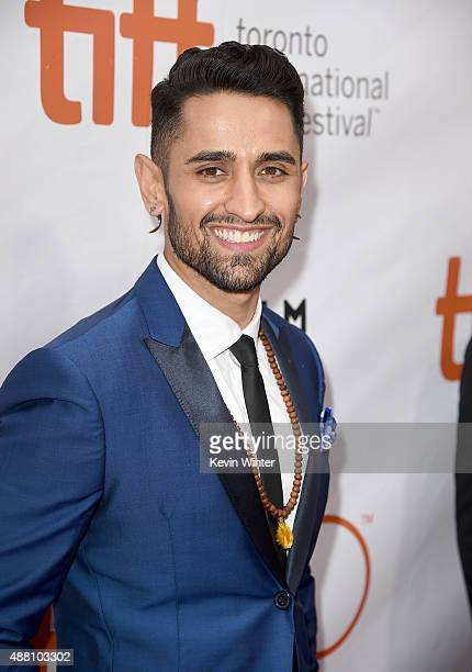 Actor Ali Momen attends the Beeba Boys premiere during the 2015 Toronto International Film Festival at Roy Thomson Hall on September 13 2015 in...