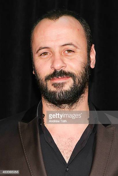 Actor Ali Suliman attends the 'Lone Survivor' New York premiere at Ziegfeld Theater on December 3 2013 in New York City