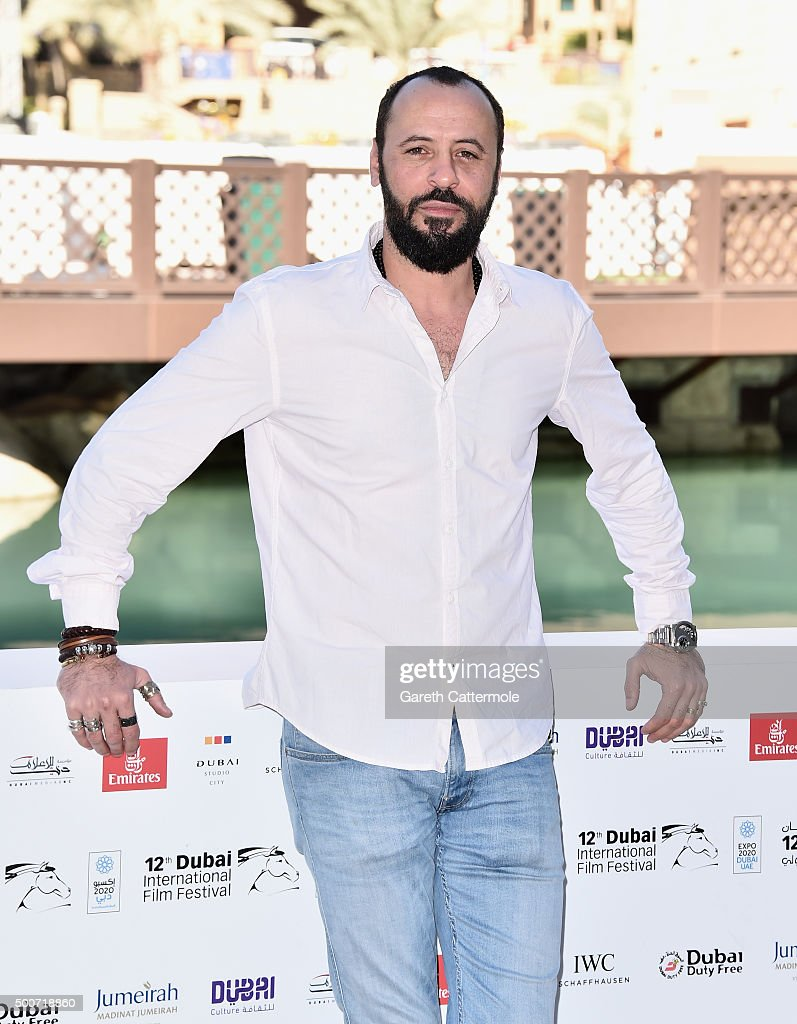 Actor Ali Suliman attends the Zinzana (Rattle The Cage) photocall during day two of the 12th annual Dubai International Film Festival held at the Madinat Jumeriah Complex on December 10, 2015 in Dubai, United Arab Emirates.