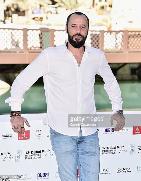 Actor Ali Suliman attends the Zinzana photocall during day two of the 12th annual Dubai International Film Festival held at the Madinat Jumeriah...