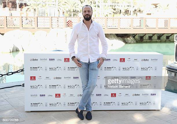 Actor Ali Suliman attends the 'Zinzana ' photocall during day two of the 12th annual Dubai International Film Festival held at the Madinat Jumeriah...