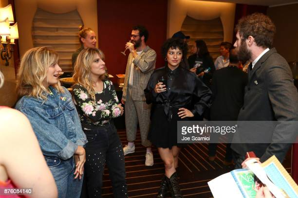 Actor Alia Shawkat attends a 'Search Party' event during Vulture Festival LA Presented by ATT at Hollywood Roosevelt Hotel on November 18 2017 in...