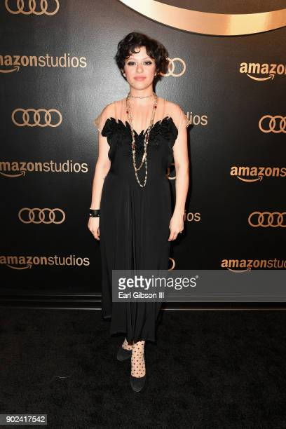 Actor Alia Shawkat attends Amazon Studios' Golden Globes Celebration at The Beverly Hilton Hotel on January 7 2018 in Beverly Hills California