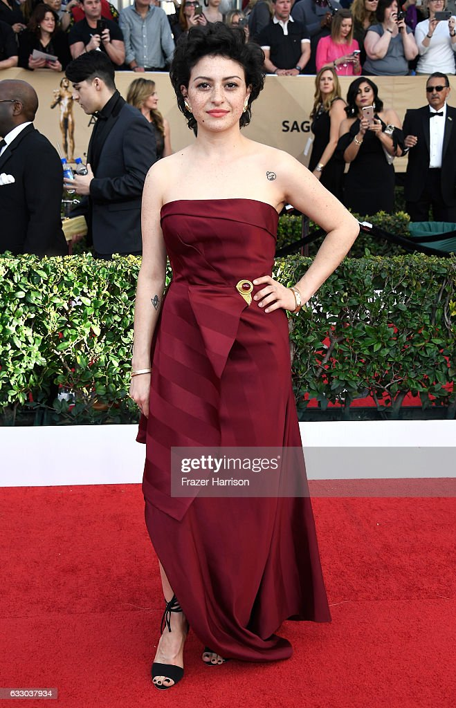 The 23rd Annual Screen Actors Guild Awards - Arrivals : News Photo