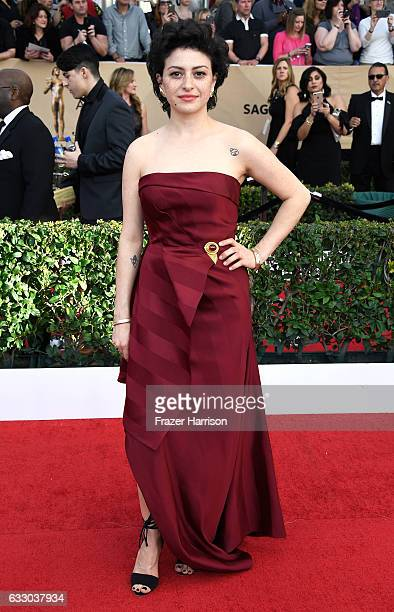 Actor Alia Shawkat attends The 23rd Annual Screen Actors Guild Awards at The Shrine Auditorium on January 29 2017 in Los Angeles California 26592_008