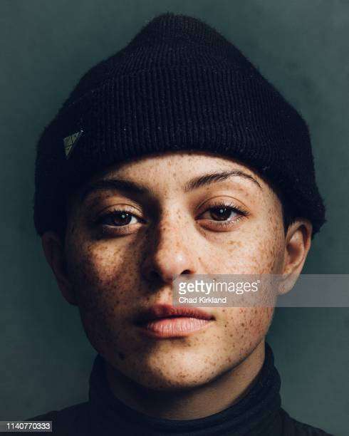 Actor Alia Shawkat is photographed for Deadline on January 28 2019 in Park City United States