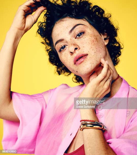 Actor Alia Shawkat is photographed for the Guardian on April 3 2017 in Los Angeles California