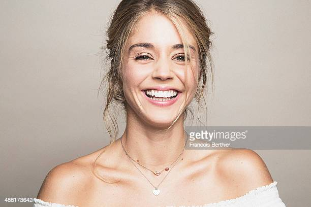Actor Alice Isaaz is photographed at the 41st Deauville American Film Festival on September 8 2015 in Deauville France