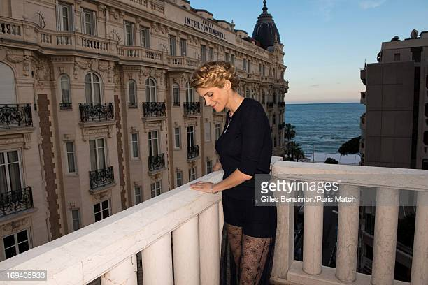 Actor Alice Taglioni is photographed for Paris Match on May 19 2013 in Cannes France