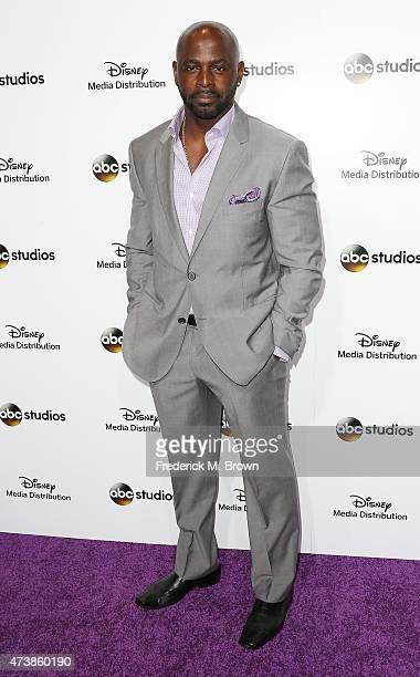 Actor Alimi Ballard attends Disney Media Disribution International Upfronts at Walt Disney Studios on May 17 2015 in Burbank California