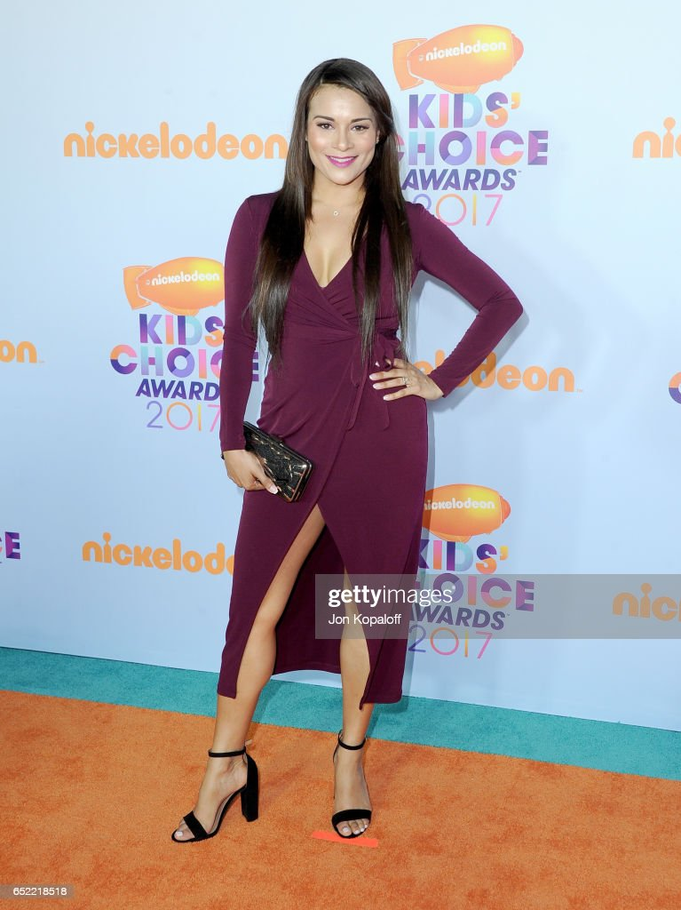 Actor Alisa Reyes at Nickelodeon's 2017 Kids' Choice Awards at USC Galen Center on March 11, 2017 in Los Angeles, California.