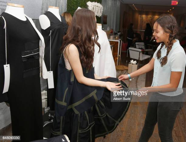Actor Alisha Boe attends Kari Feinstein's PreOscar Style Lounge at the Andaz Hotel on February 24 2017 in Los Angeles California