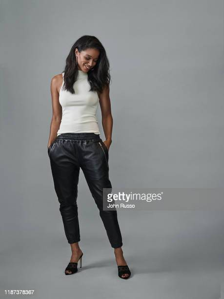 Actor Alisha Wainwright is photographed for Gio Journal on August 7 2019 in Los Angeles California