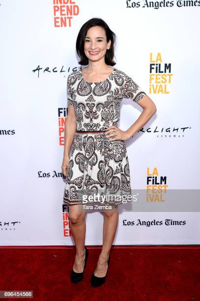 Actor Alison Becker attends the screenings of 'Becks' and 'Swim' during the 2017 Los Angeles Film Festival at Arclight Cinemas Culver City on June 15...