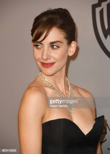 Actor Alison Brie attends 19th Annual PostGolden Globes Party hosted by Warner Bros Pictures and InStyle at The Beverly Hilton Hotel on January 7...