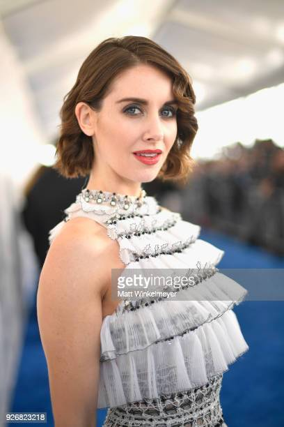 Actor Alison Brie attends the 2018 Film Independent Spirit Awards on March 3 2018 in Santa Monica California