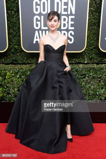 Actor Alison Brie attends The 75th Annual Golden Globe Awards at The Beverly Hilton Hotel on January 7, 2018 in Beverly Hills, California.