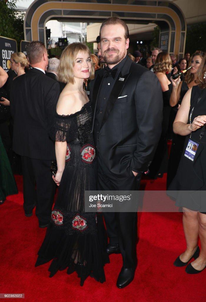 Moet & Chandon At The 75th Annual Golden Globe Awards - Red Carpet : ニュース写真